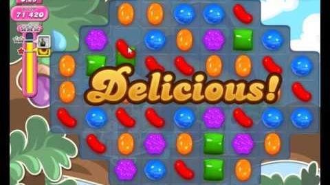 Candy Crush Saga Level 1674 Hard Level NO BOOSTER (3 Stars)