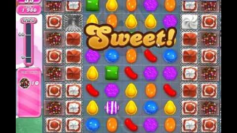 Candy Crush Saga Level 286 - 2 Star - no boosters