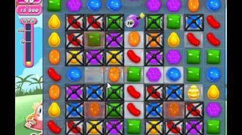 Candy Crush Saga Level 329 - 2 Star - no boosters