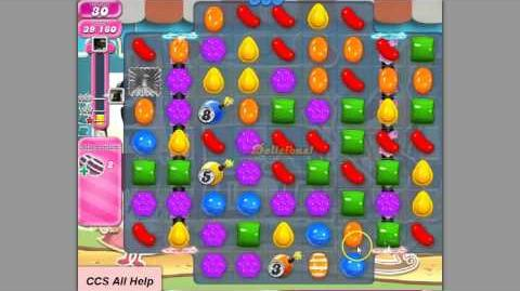 Candy Crush Saga Level 677 NEW Nov