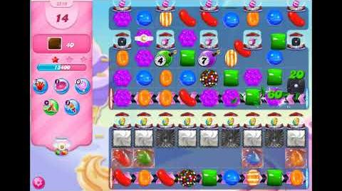 Candy Crush Saga - Level 3510 - No boosters ☆☆☆