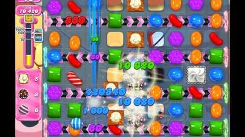 Candy Crush Saga Level 1838 ( New with 30 Moves ) No Boosters 3 Stars