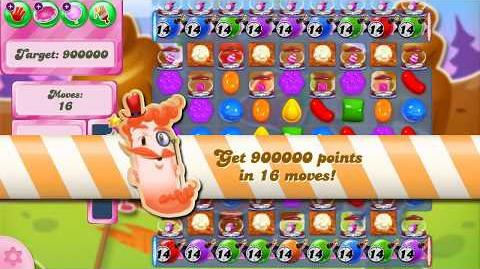 Candy Crush Saga Level 2612 NO BOOSTERS