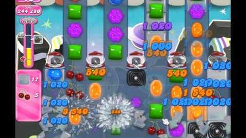 Candy Crush Saga Level 1870 ( New with 25 Moves ) No Boosters 1 Star
