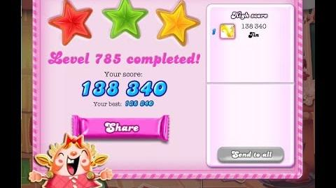 Candy Crush Saga Level 785 ★★★ NO BOOSTER