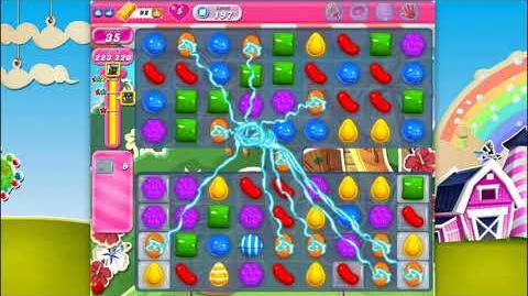 Candy Crush Saga - Level 197 - No boosters ☆☆☆ Top Score