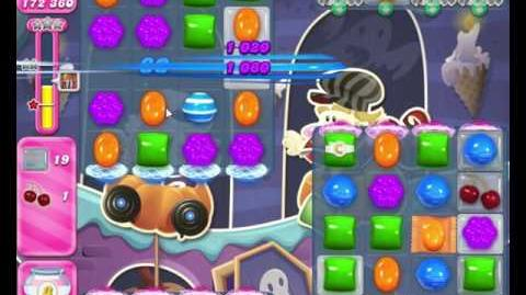 Candy Crush Saga LEVEL 2050 ( Combine Color Bomb with a stripe or another Color Bomb)