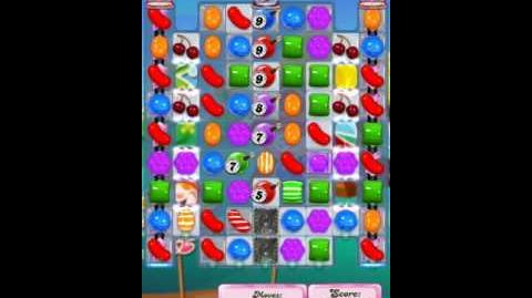 Candy Crush Level 1917 (3rd version, 23 moves)