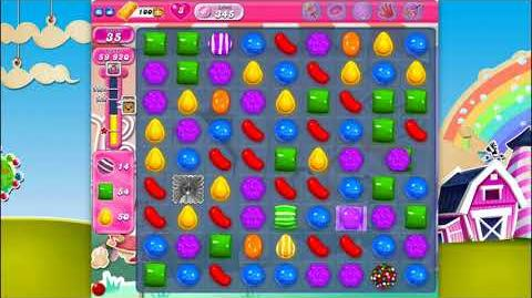 Candy Crush Saga - Level 345 - No boosters ☆☆☆