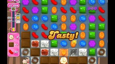 Candy Crush Saga Level 1858 ( New with 34 Moves and 80 Red Candies Order ) No Boosters 3 Stars