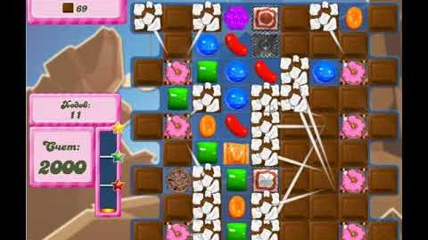Candy Crush Saga Level 2622 New 20 Moves