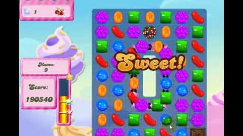 Candy Crush Saga Level 2836 NO BOOSTERS 2Star 2700plus Group 1st