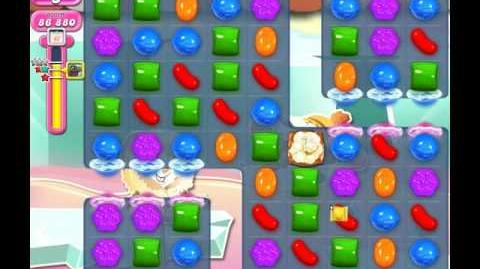 Candy Crush Saga Level 1835 ( New with 23 Moves ) No Boosters 3 Stars