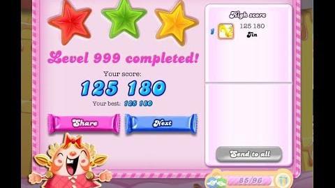 Candy Crush Saga Level 999 ★★★ NO BOOSTER