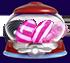 Liquorice swirl Striped candy Candy key cannon