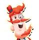 Mr. Toffee emoticon