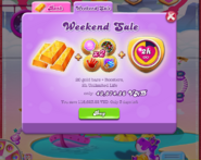 Weekend Sale on Bank