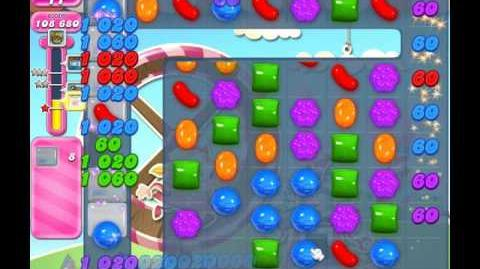 Candy Crush Saga Level 1774 ( New with 25 Moves ) No Boosters 1 Star