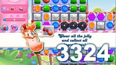 Candy Crush Saga Level 3324 (3 stars, No boosters)