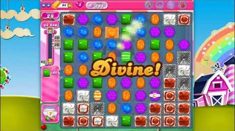 Candy Crush Saga - Level 281 - No boosters ☆☆☆