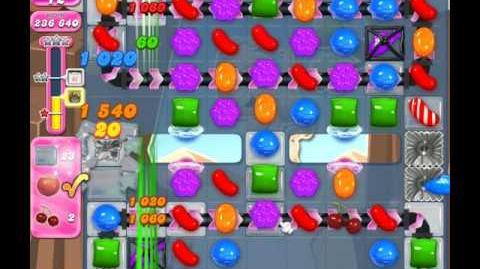 Candy Crush Saga Level 1852 ( New with 17 Moves ) No Boosters 2 Stars