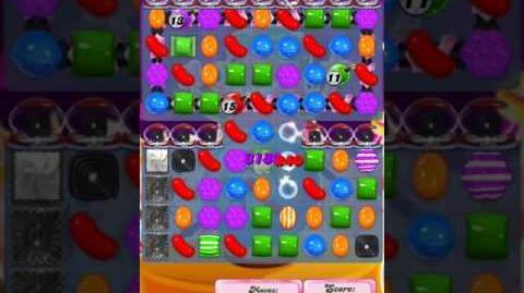 Candy Crush Level 1998 (3rd version, 6 liquorice swirls requirement)