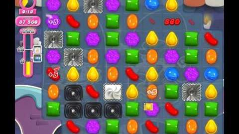 Candy Crush Saga Level 2058 ( New with 90,000 Points ) No Boosters 1 Star