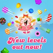 New levels released 100