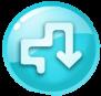 Rainbow Rapids level icon