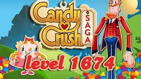 Candy Crush Saga Level 1674