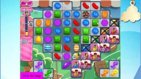 Candy Crush Saga Level 2069 15 moves NO BOOSTERS