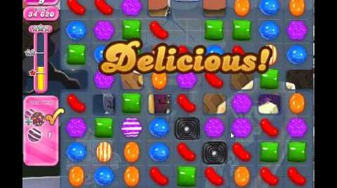 Candy Crush Saga Level 224 - 2 Star - no boosters