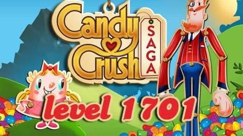 Candy Crush Saga Level 1701