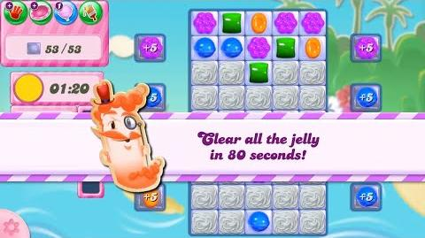 *JELLY TIME* Candy Crush Saga Level 2781 NO BOOSTERS (new mixed level type- JELLY+TIME)