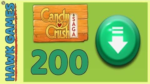 Candy Crush Saga Level 200 (Ingredients level) - 3 Stars Walkthrough, No Boosters
