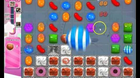 Candy Crush Saga level 253 strategy to pass No Boosters