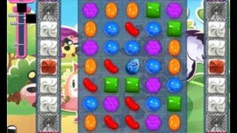 Candy crush saga level 1364 ,time to use your fish booster
