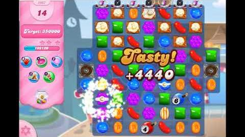 Candy Crush Saga - Level 2967 ☆☆☆