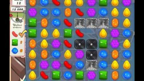 Candy Crush Saga Level 126 - 2 Star - no boosters