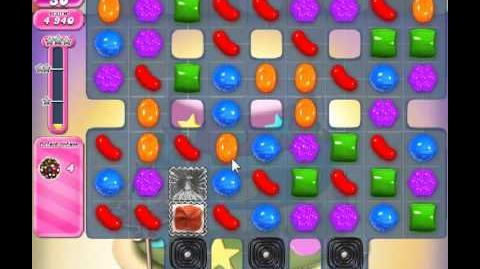 Candy Crush Saga Level 206 - 2 Star - no boosters