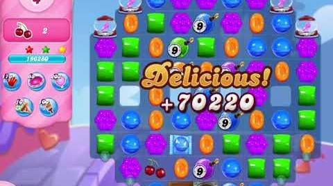 Candy Crush Saga Level 3100 NO BOOSTERS (14 moves)