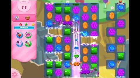 Candy Crush Saga - Level 2855 - No boosters ☆☆☆