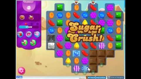 Candy Crush Saga Level 117 Walkthrough No Booster, New Version J