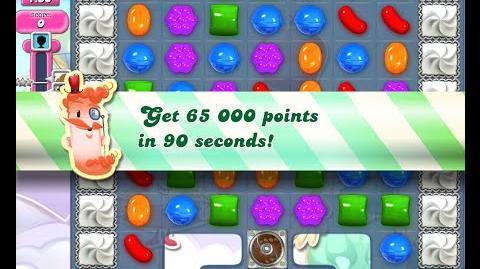Candy Crush Saga Level 433 walkthrough (no boosters)