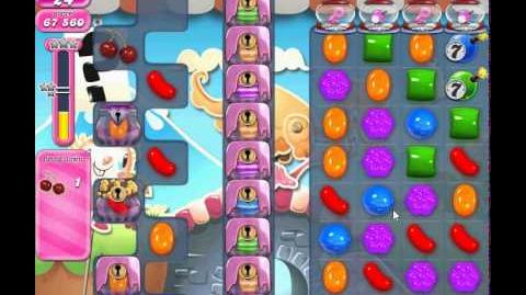 Candy Crush Saga Level 739 (No boosters,3 stars)