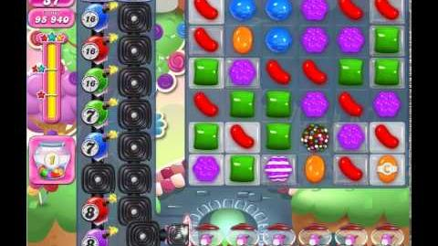 Candy Crush Saga Level 961 (No booster, 3 Stars)