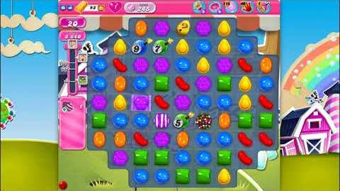 Candy Crush Saga - Level 245 - No boosters