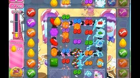 Candy Crush Saga Level 1258 ( Match Two Color Bombs ) NO BOOSTER