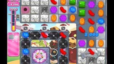 Candy Crush Saga Level 1650 ( New with 42 Moves ) ( 1 star ) No Boosters