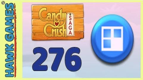 Candy Crush Saga Level 276 (Jelly level) - 3 Stars Walkthrough, No Boosters